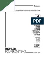 Kohler Service Manual-TP6196