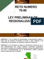 4. Regionalización y Consejos