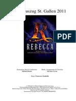 Rebecca (Conductor's Score)