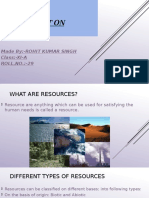 Project On Resources