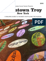 Downtown Troy Walking Guide
