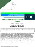GarciaCasta La Educación Multicultural