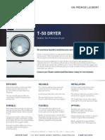 Brochure Secadora Opl T-50