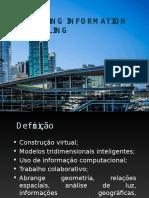 Apresentação - Building Information Modeling