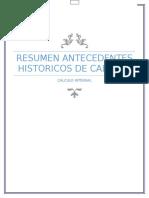 Resumen de La Historia Del Calculo