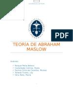Teoría de Abraham Maslow