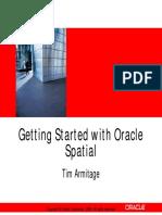 Oracle Spatial DB - Tutorial