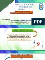 Mecanismo de Accion de Antisepticos y Desinfectantes