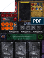 Descent PlayerMat 2pages