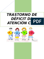 Cuadernillo de TDAH