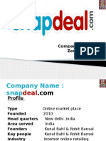 Snapdeal Company Report