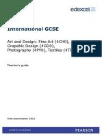 IGCSE Art and Design TSM