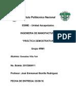 Practica Demostrativa Forja y T.T.