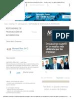 Responsable de Tecnologías de Información en Microsol Peru S.a.C