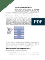 Descripción Del Sistema Operativo