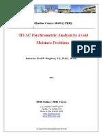 HVAC Psychrometric Analysis to Avoid Moisture Problems