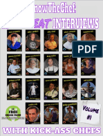 #KnowTheChef (Forkyoo) - 18 Offbeat Interviews with Top Chefs