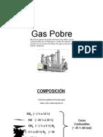 Informe Gas Pobre