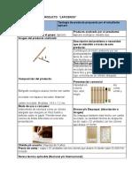 Portafolio de Fichas de Producto y Oportunidades Identificadas