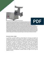 Tecnología de Punta en La Industria Carnica (1)