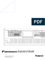 Manual Fantom G6, Fantom G7, Fantom G8