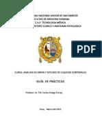 Guia de Practica 2 de Urinanalisis.
