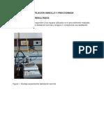 Informe Destilación Sencilla y Fraccionada