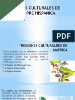 Regiones Culturales de America Pre Hispanica