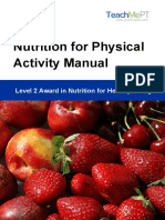 Level 2 Award in Nutrition for Healthy Living Manual