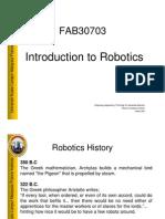 L1 - Introduction to Robotics V1