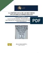La Importancia de Los Recursos Intangibles Empresariales