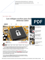 Los Códigos Ocultos Para Android Que Deberías Saber - ComputerHoy