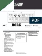 MicroKORG XL Manual