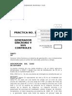 Práctica 1 Generador Síncrono y Sus Controles