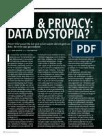 32-33 Dossier Datarevival - Zorg en Privacy Data Distopia
