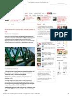 Novi Železnički Most Preko Tamiša Pušten u Rad