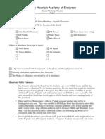 RMAE Meeting Minutes (20090115)