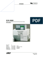 ENG SYN3000 Operation Manual