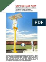Solar Powered Pump Literature