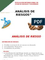 Secuencia de Analisis de Riesgos.