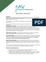 Israel Water Report 2012