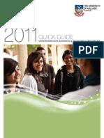 2011 Business & Economics Undergraduate Quick Guide