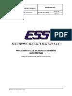 ESS-OPE-ACI-PRO011 - Procedimiento de Montaje de Tuberías Horizontales
