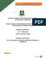Lawatan Sambil Belajar Ke Kuala Lumpur 2015