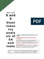 Trigger 7 - SA Steel Industry