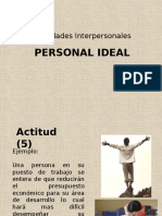 Creacion de Una Persona Ideal