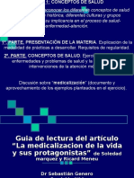 Medicalizacion