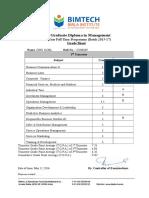 Format Gs Dm II 2015-17