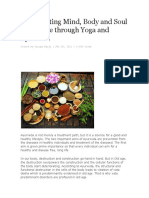 Rejuvenating Mind, Body and Soul in Old Age Through Yoga and Ayurveda