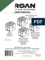 Air Filter Manual
